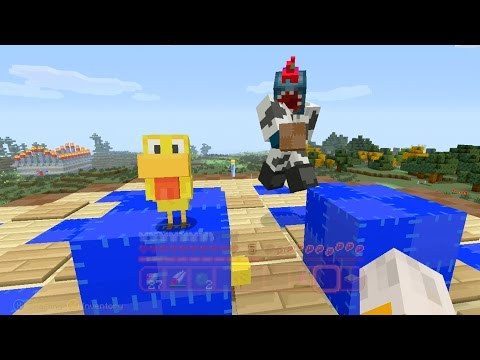 Minecraft Xbox - Quest For Bouncy Chickens (59)