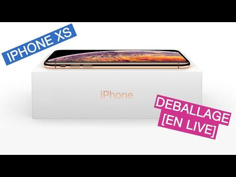 On déballe l'iPhone XS et l'Apple Watch Séries 4 en live !