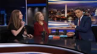 Trevor Noah asks Hillary Clinton about Jeffrey Epstein