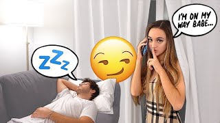 SNEAKING OUT OF THE HOUSE IN THE MIDDLE OF THE NIGHT PRANK!!