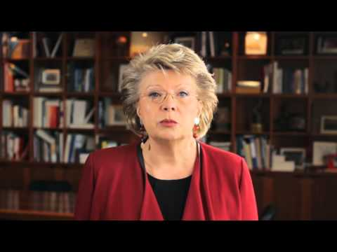 """I Am Rising..."": Viviane Reding, Vice-president of the European Commission"