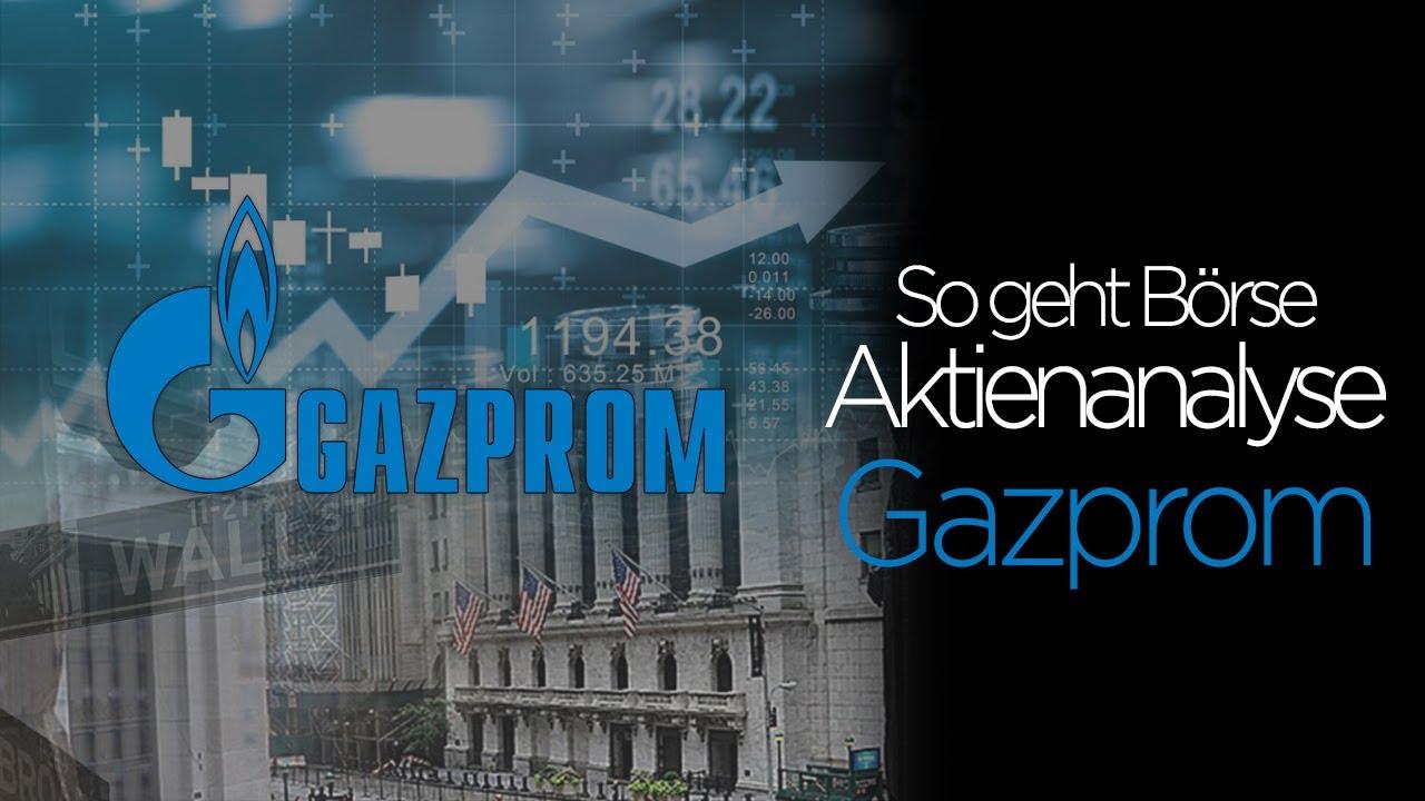 Aktie Gazprom