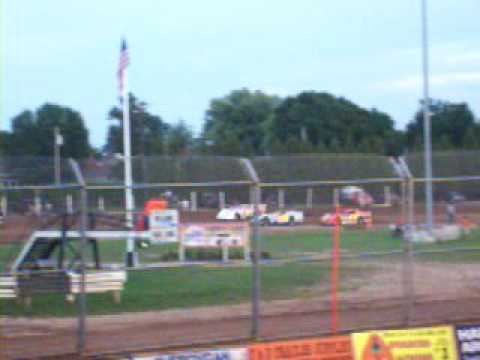 Plymouth Dirt Track - 08.16.08 Late Model Heat