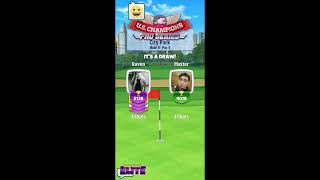 "Golf Clash cheater named ""Master"" at it again on tour 11"