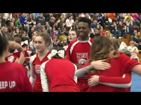 Norwich Free Academy at 2020 ECC Cheerleading Championship