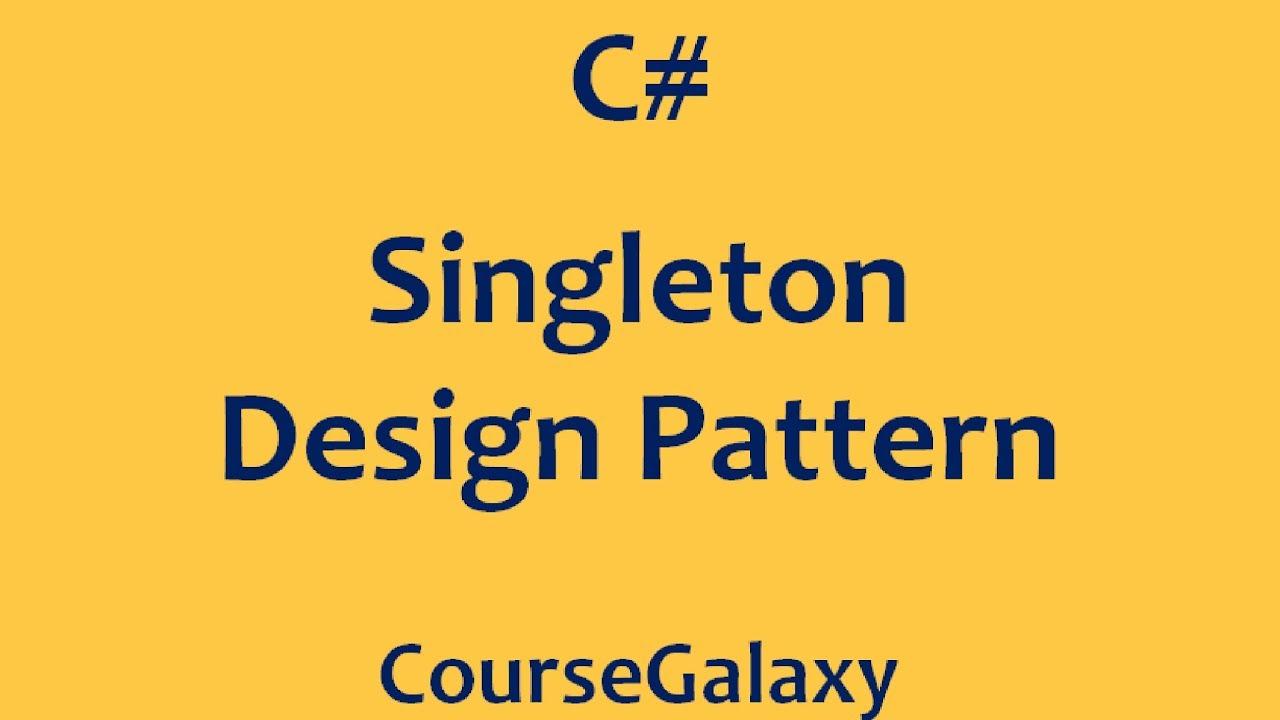 Singleton Pattern C Magnificent Design Inspiration