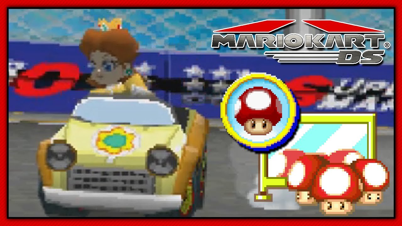 how to get rob in mario kart ds cheat