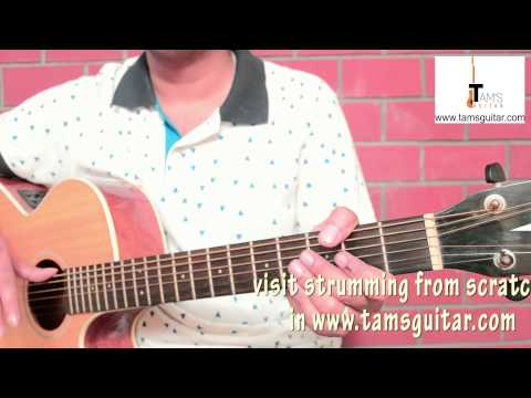 O sanam guitar lesson (simplified 4chords) www.tamsguitar