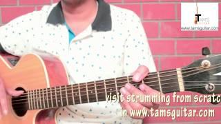 O sanam guitar lesson (simplified 4chords) www.tamsguitar.com