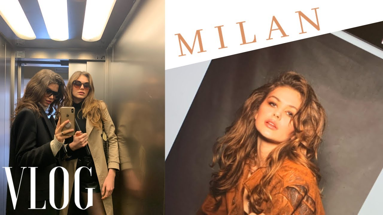 Model vlog : MY LIFE IN MILAN || Julie Tuzet