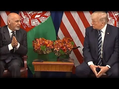 THE AFGHAN PRESIDENT JUST LEANED IN AND TOLD TRUMP OBAMA'S DIRTY DEEDS