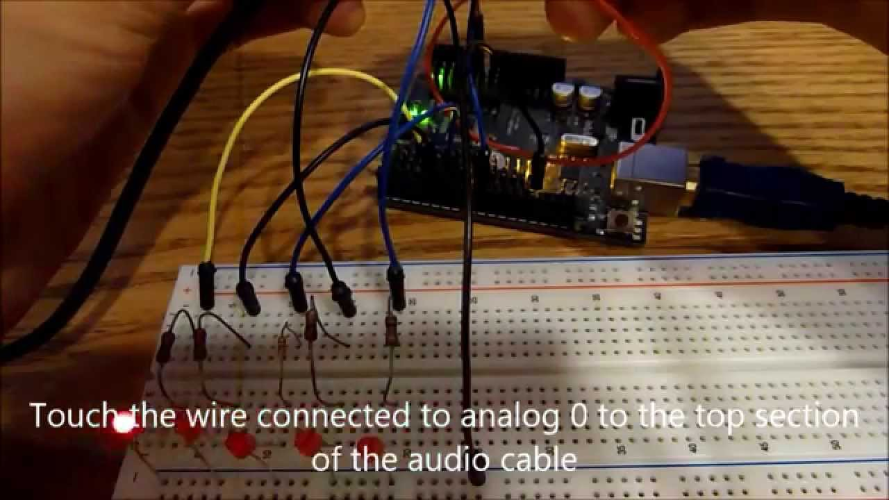 Arduino Audio Input Youtube Headphone Jack Wiring