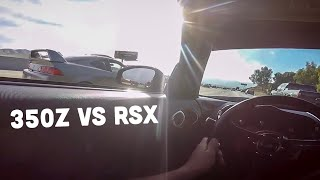 racing a full bolt on rsx w tune