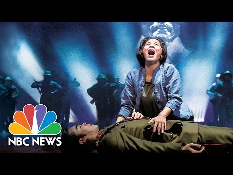 From London's West End To New York City: 'Miss Saigon' Stars Take Broadway | NBC News
