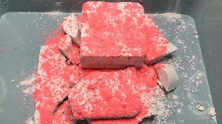 ASMR Z Athletic Gym Chalk Crumbling + Crunchy Reformed Gym Chalk Slabs Satisfying Sleep Aid