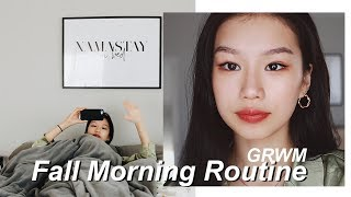 FALL MORNING ROUTINE 2018 | GRWM