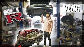 My R32 GT-R Has NO Engine!
