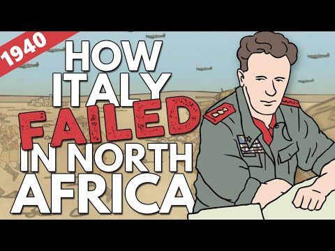 North African Campaign 1940 | Animated History
