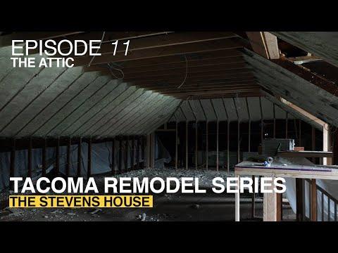 Episode 11 The Attic | The Stevens House  | HGTV Style Renovation