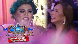 It 39 s Showtime Miss Q A Grand Finals Ms Charo Santos laughs at Brenda 39 s joke