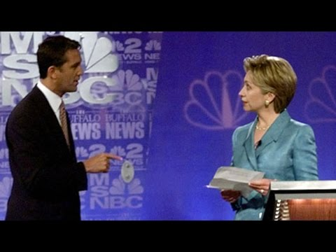 First Debate Clinton-Lazio, 2000 - Part 6