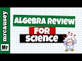 Algebra Basics Concept Review For Science mp3