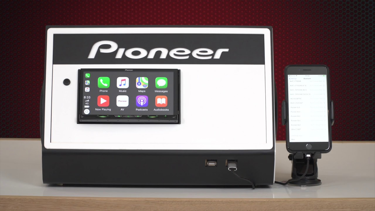 Pioneer Carplay Wireless Connection Guide 2018 Youtube