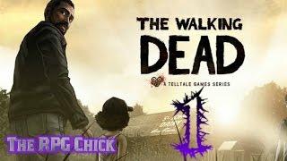 Let's Play The Walking Dead, Season 1 (Blind), Part 1: Meet Lee