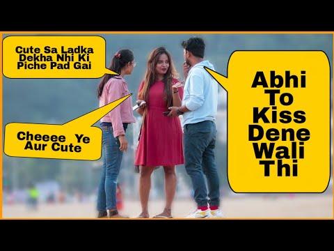 Cheating Girlfriend Prank On Cute Girls In Public Ft Simmi Saini