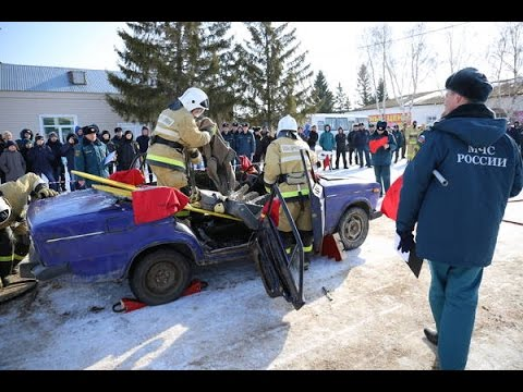 Альметьевские пожарные стали лучшими в проведении аварийно-спасательных работ при ликвидации ДТП
