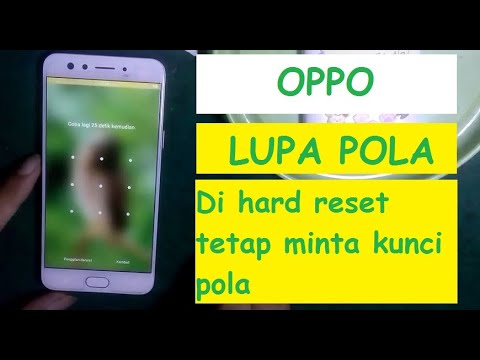 Cara Mengatasi : Oppo A5s Lupa Sandi Oppo A5s Lupa Pola Oppo A5s Lupa PIN Hapus kunci layar Oppo A5s.