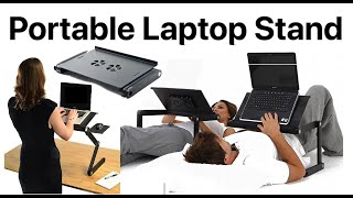 Unboxing Review All-in-one Portable Laptop Stand