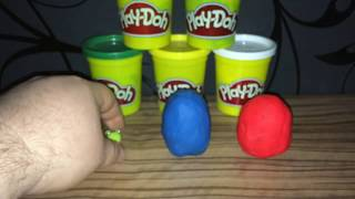 Play Doh Color Surprise Eggs Toys Collection ep 2