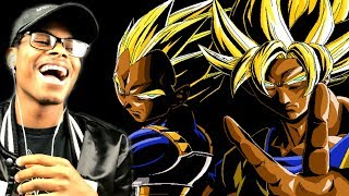 OMG! IM DONE! | If Goku & Vegeta Were Black (DBZ Parody) | Reaction