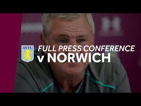 Full press conference: Norwich home