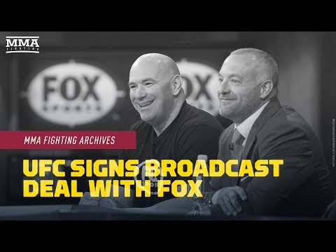 MMA Fighting Archives: UFC Signs Broadcast Deal With Fox Sports