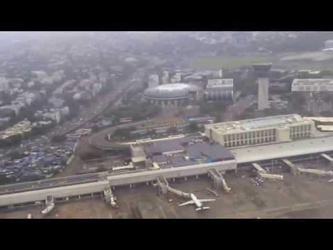 GoAir Flight take off from Mumbai Chatrapati Shivaji International Airport