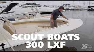 Scout Boats 300 LXF Walkthrough