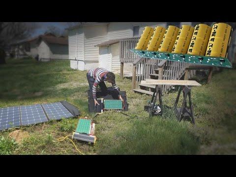 Building the SOLN1-2000 Watt Capacitor Solar Generator thumbnail