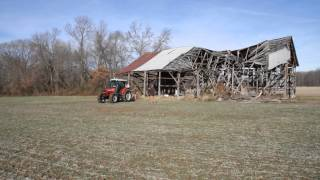 Barn salvage in Southern Maryland