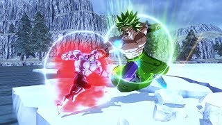 Broly vs Jiren! Broly the Strongest enemy?! - Dragon Ball Xenoverse 2