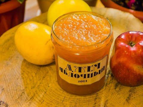 Как приготовить яблочный джем, простой и быстрый рецепт