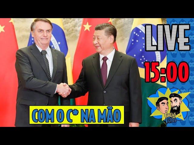 LIVE: Bolsonaro se rende a China por vacina | Galãs Feios