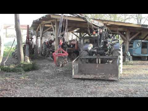 tracteur remorque forestier doovi. Black Bedroom Furniture Sets. Home Design Ideas