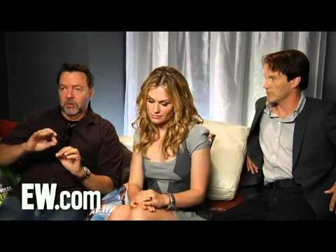 True Blood - Anna Paquin, Stephen Moyer & Alan Bell interview at Comic Con 2010