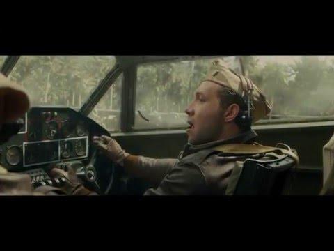 Unbroken (2014) Crash Landing Scene