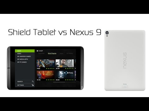 Nvidia SHIELD Tablet vs the Google Nexus 9
