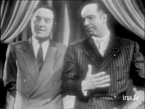 Julien Bertheau et Robert Manuel