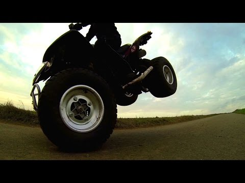 Best of Quad Summer - Aeon Cobra 180 & Kymco Maxxer 250 [Gopro]