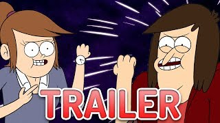 The Adult Regular Show - Close Enough TRAILER Impressions
